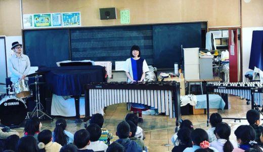 音楽室コンサート&マリンバ ・ドラム講座 その1